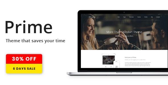 Prime   WordPress Theme - Corporate WordPress