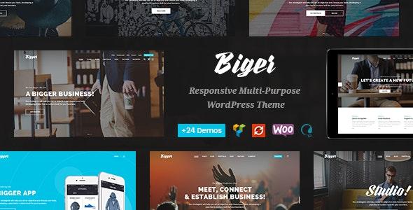 Biger - Responsive Multi-Purpose WordPress Theme - Business Corporate