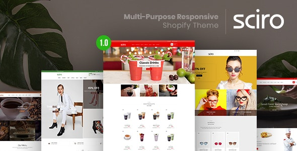 Sciro – Multi-Purpose Responsive Shopify Theme - Shopify eCommerce