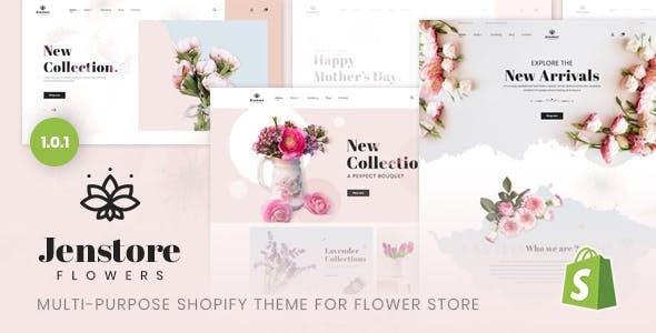 JenStore | Multi-Purpose Shopify Theme for Flower Store