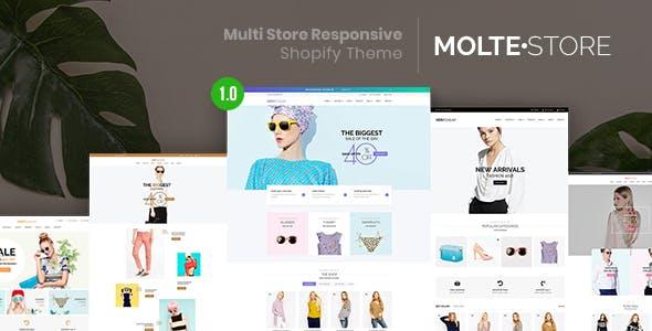 MolteStore - Multi Store Responsive Shopify Theme