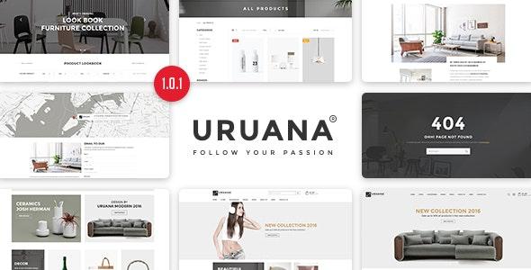 Uruana - Multi Store Responsive HTML Template - Retail Site Templates
