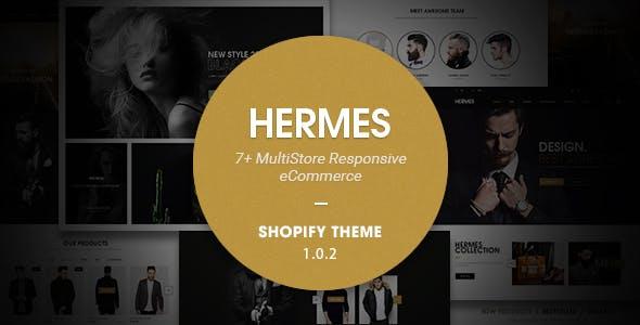Hermes - Multi Store Responsive Shopify Theme