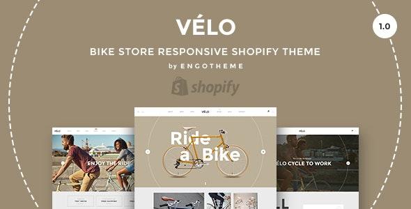 Velo - Bike Store Responsive Shopify Theme - Shopify eCommerce