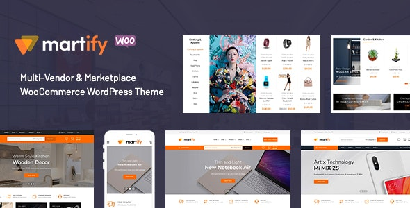Martify - WooCommerce Marketplace WordPress Theme - WooCommerce eCommerce