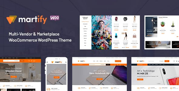 Martify - WooCommerce Marketplace WordPress Theme