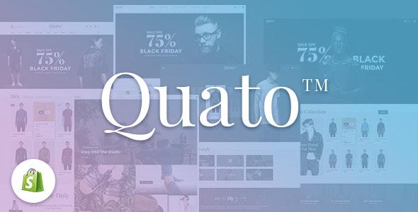 Quato - Responsive Shopify Theme - Shopify eCommerce