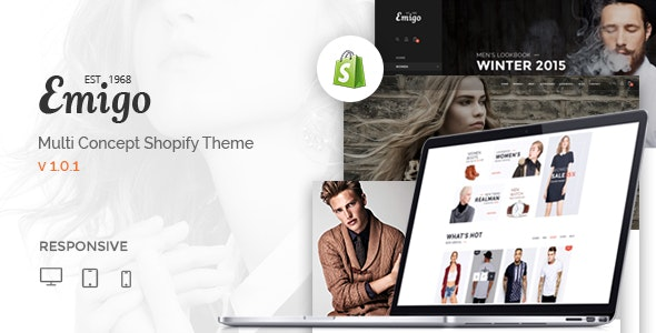Emigo - Multi Concept Shopify Theme - Shopify eCommerce