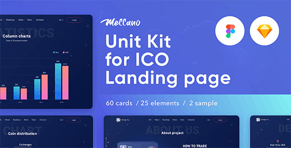 Meccano — Unit Kit & Template Sketch & Figma by