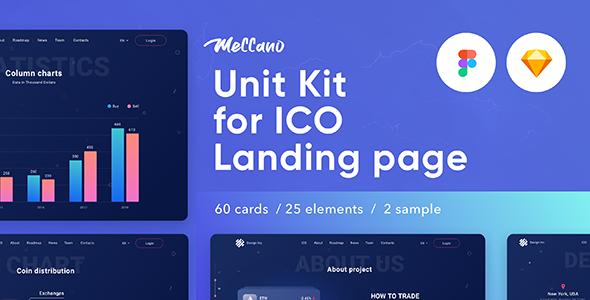 Meccano — Unit Kit & Template Sketch & Figma - Sketch Templates