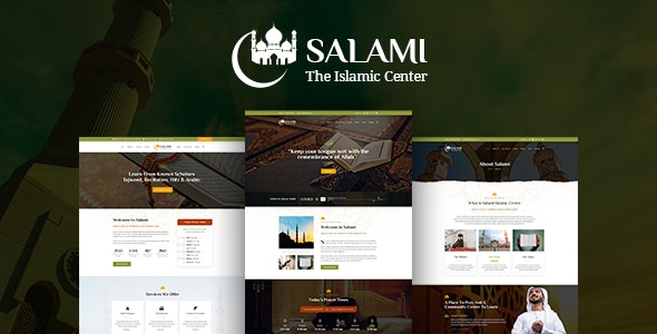 Salami -  Islamic Center &  Forum - Nonprofit Photoshop