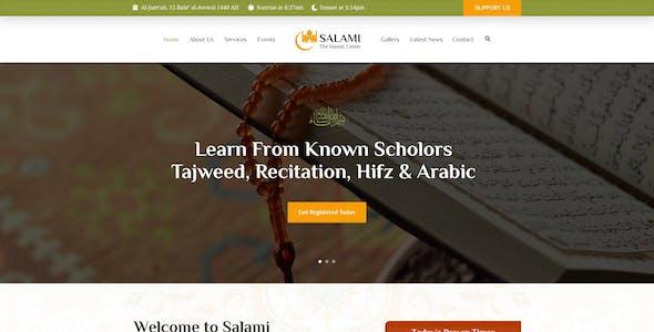 Salami -  Islamic Center &  Forum