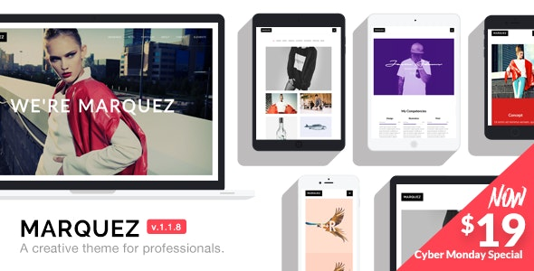 Marquez - A Creative WordPress Theme for Creatives and Agencies - Creative WordPress