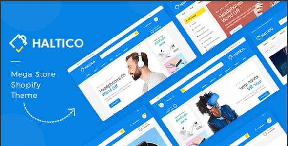 Electronics Shopify Theme - Haltico