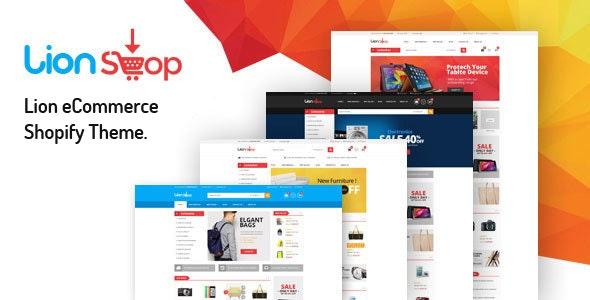 Lion – eCommerce Shopify Theme - Shopping Shopify
