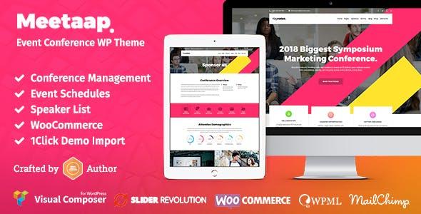 Meetaap - Event & Conference WordPress Theme