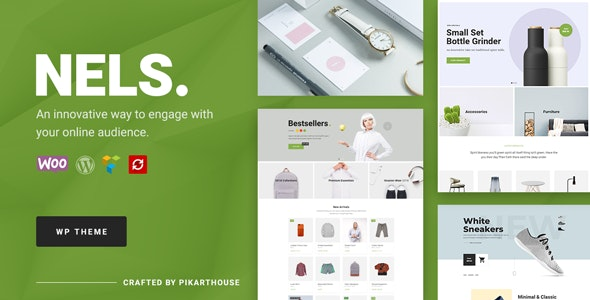 Nels - An Exquisite eCommerce WordPress Theme by PikartHouse