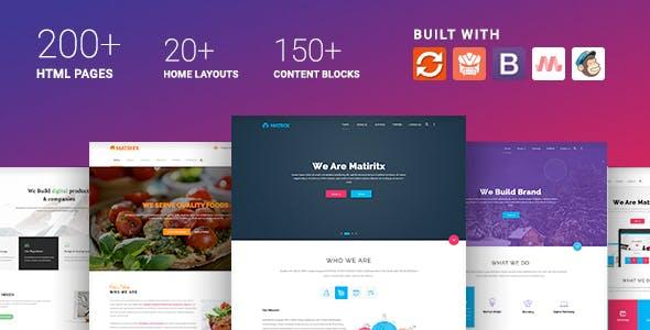 Materialize - Material Design Based Multipurpose HTML Template