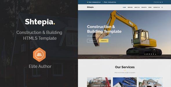 Shtepia - Construction & Building HTML5 Template