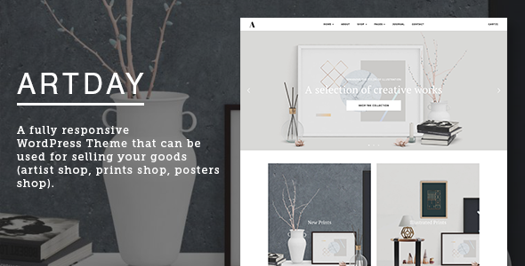 Artday – Creative Artist WordPress Shop