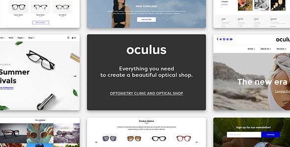 Oculus - Creative Sunglasses WooCommerce Shop - WooCommerce eCommerce