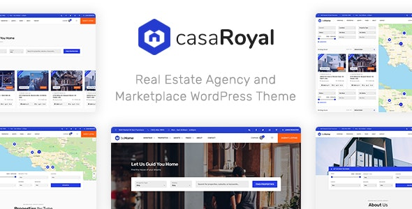 casaRoyal - Real Estate WordPress Theme - Real Estate WordPress