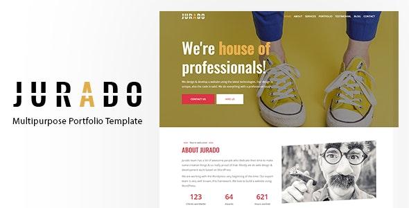 Jurado - Multipurpose Portfolio Template - Portfolio Creative