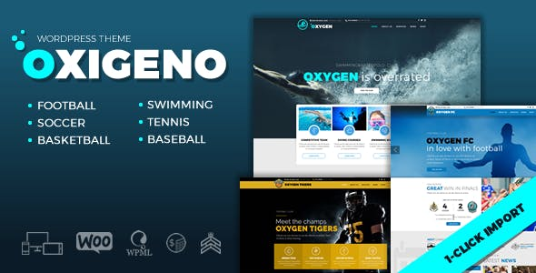 Sport WordPress Themes from ThemeForest