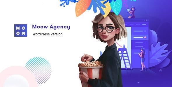Moow - Agency WordPress Theme - Creative WordPress