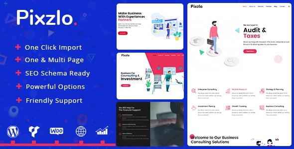 Pixzlo - Creative Theme for Professionals - Portfolio Creative
