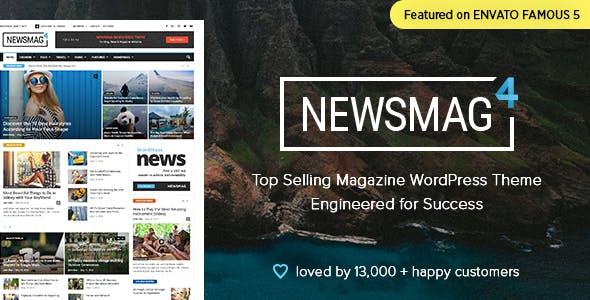 Newsmag - News Magazine Newspaper by tagDiv | ThemeForest