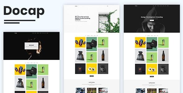 Docap - Minimal Portfolio Template - Portfolio Creative