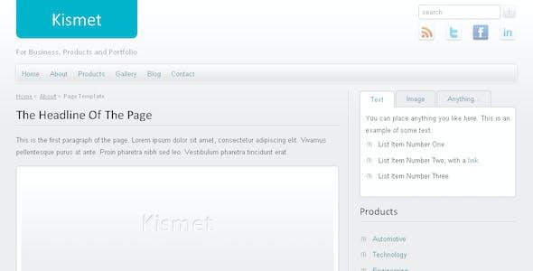 Kismet - HTML Business/Portfolio Template