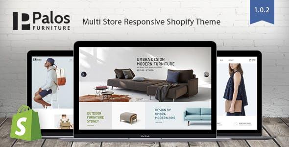 Palos - Multi Store Responsive Shopify Theme