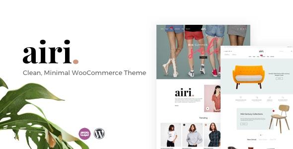 Airi - Clean, Minimal WooCommerce Theme - WooCommerce eCommerce