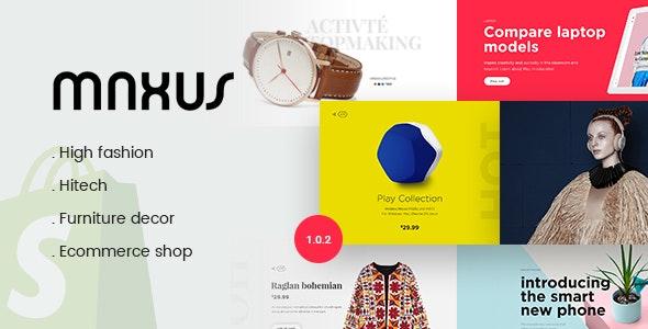 Maxus - Multi Store Responsive Shopify Theme - Shopify eCommerce