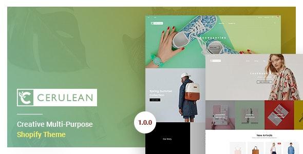 Cerulean - Creative Multi-Purpose Shopify Theme - Shopify eCommerce