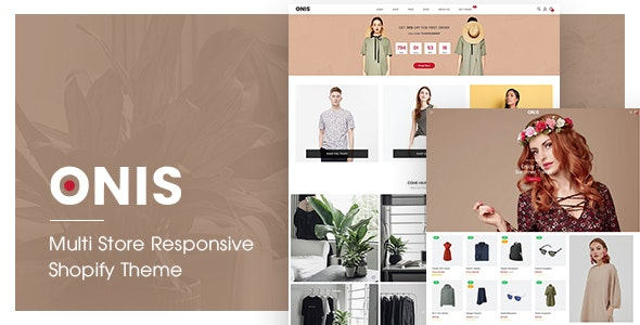 ONIS | Multi Store Responsive Shopify Theme - Shopify eCommerce