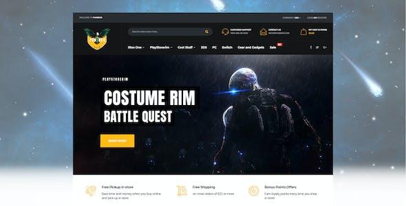 Punibor - Gaming Store HTML Template