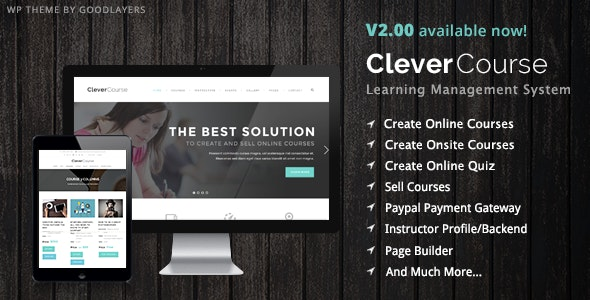 Clever Course - Education / LMS - Education WordPress