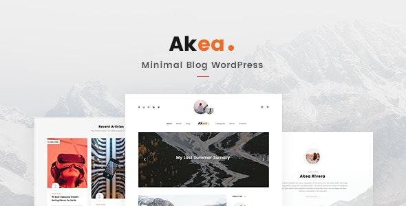 Akea - Blog - Personal Blog / Magazine