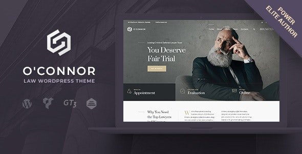 Oconnor - Law and Lawyer - Business Corporate