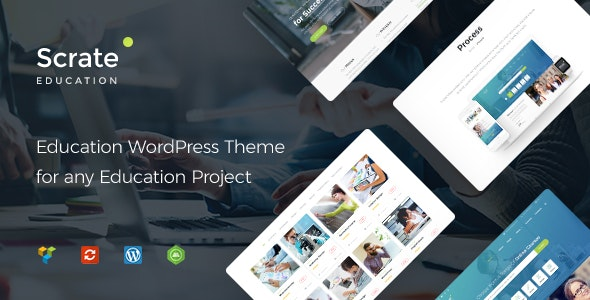 Scrate - Education and Teaching Online Courses - Education WordPress