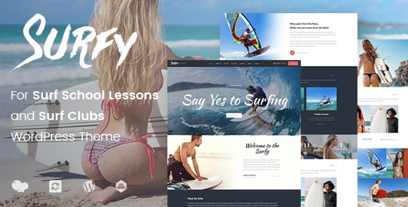 Surfy - Surfing and Water Sports - Travel Retail