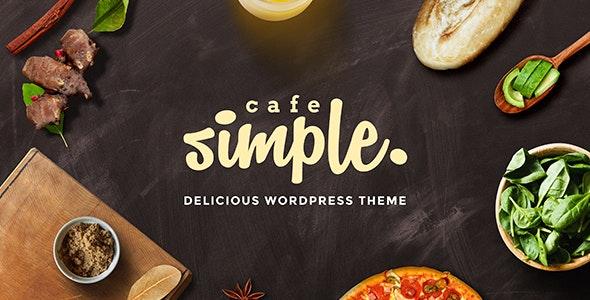 Cafe and Restaurant WordPress Theme - SimpleCafe - Restaurants & Cafes Entertainment