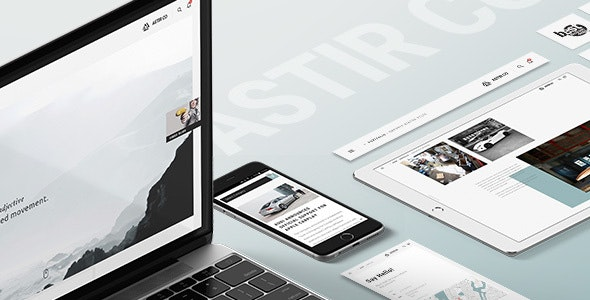 Astir - Creative WP Theme for Artists, Craftsmen, Artisan and Creatives - Experimental Creative