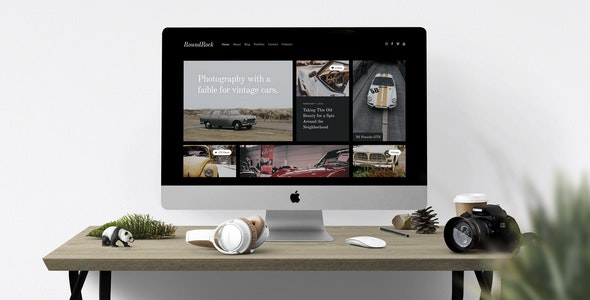 RoundRock – Photography Portfolio & Blog HTML5 Template - Photography Creative