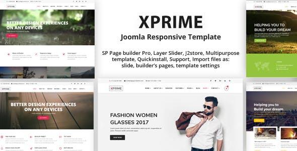 XPRIME - Creative Joomla Multipurpose Template