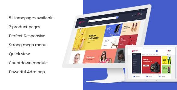 Leo Shopsmart Advanced Supermarket Prestashop 1.7 Theme for Fashion   Furniture   Digital