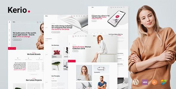 Kerio - Creative MultiPurpose WordPress - Portfolio Creative